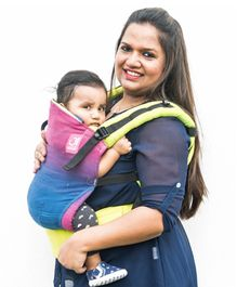 Anmol Baby 2 Way Carrier Maahi Full WCSSC - Blue