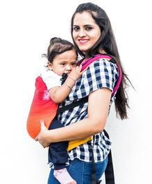 Anmol Baby 2 Way Carrier Maahi Full WCSSC - Orange