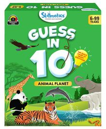 Skillmatics Guess in 10 Animal Planet Green - 58 Cards