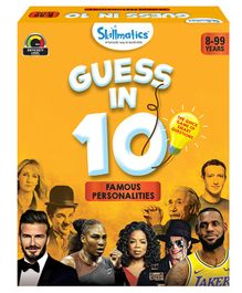Skillmatics Guess in 10 Famous Personalities Yellow - 58 Cards