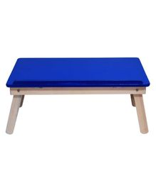 Sattva Portable Folding Study Table - Blue