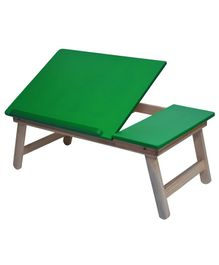 Sattva Portable Folding Double Study Table - Green