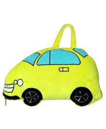 Softbuddies Car Blanket - Neon Green