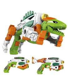 Toys Bhoomi 3-in-1 Transforming Dinosaur Toy Gun - Green
