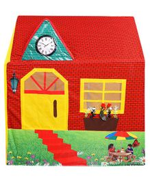 Smartcraft Country House Play Toy Tent- Red