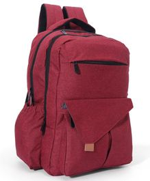 Backpack Diaper Bag - Red