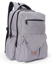 Backpack Diaper Bag - Grey