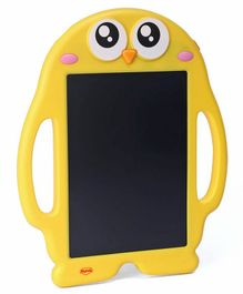 Mitashi Skykidz Scribble Doodle Board With Pen & Stamper - Yellow