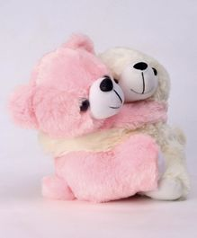 Dimpy Teddy Bear Soft Toy Set Of 2 - Height 20 cm