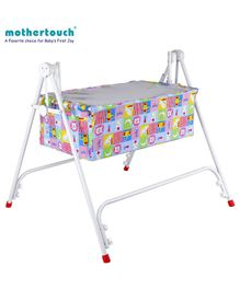 Mothertouch Dream Cradle Animal Print - Blue