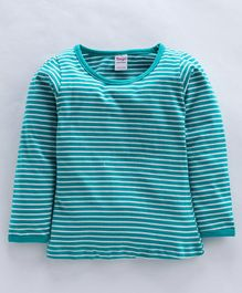 Tango Full Sleeves Stripe Tee - Blue