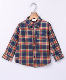 Beebay Full Sleeves Checked Shirt - Blue