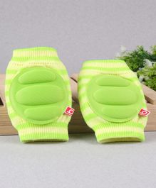 Babyhug Elbow & Knee Protection Pads Protection Pads - Green & Yellow