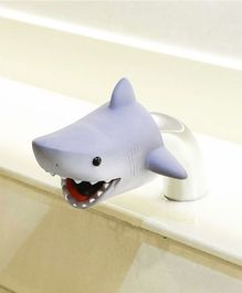 BabyPro Silicone Rubber Baby Shark Bath Faucet Cover - Grey