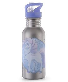 Unicorn Twilight Sparkle Stainless Steel Insulated Water Bottle - 500 ml
