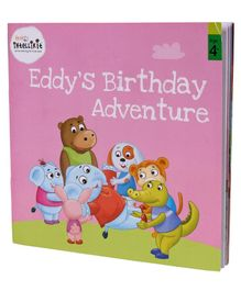 Firstcry Intellikit Subscription Eddy's Birthday Adventure Story Book - English