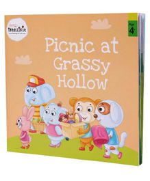 Firstcry Intellikit Picnic at Grassy Hollow Story Book - English