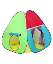 Playhood Triangular Play House - Multicolour