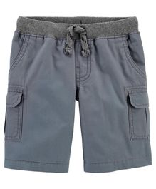 Carers Baby Girls Easy Pull-On Chambray Shorts 24 Months