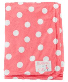 Carter's 100% Polyester Blanket - Peach