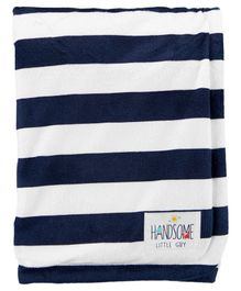 Carter's 100% Polyester Blanket Striped - Blue