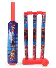 Paw Patrol Cricket Set - Red & Blue