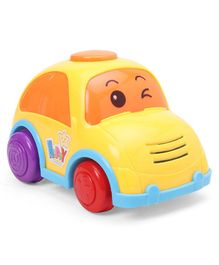 Pull Friction Toy Car - Yellow