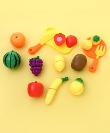 Fruit Cutting Set Pack of 14 - Multicolor