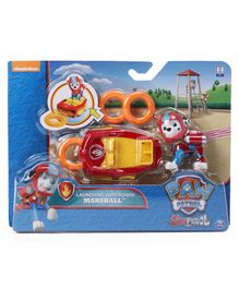 Paw Patrol Sea Patrol Marshall's Launching Surfboard Zuma Multicoloured - Length 4.5 cm