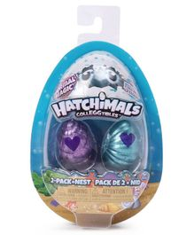 Hatchimals Colleggtibles Mermal Magic Surprise Pack of 2 - (Color May vary)
