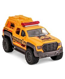 Dickie Mega Build Pick Up Construction Truck Toy - Yellow