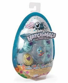 Hatchimals Colleggtibles Pack of 4 With Bonus - Multicolor