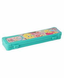 Tweety Print Pencil Box - Green