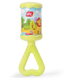 ABC Chime Rattle With Sound - Light Green