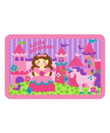 Stephen Joseph Kids Placemat Princess Print - Pink