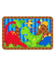 Stephen Joseph Kids Placemat Dino Print - Multicolor