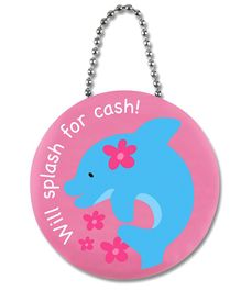 Stephen Joseph Penny Pincher Dolphin - Pink