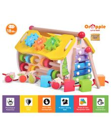 Orapple by R for Rabbit Multipurpose Skill House - Multicolor