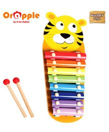 Orapple by R for Rabbit Tin Tin Xylophone Toy - Multicolour