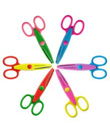 Syga Kids Smart Paper Edger Scissors Pack Of 6 - Multicolour