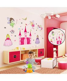 Syga Castle Princess Fairy Wall Sticker - Multicolor