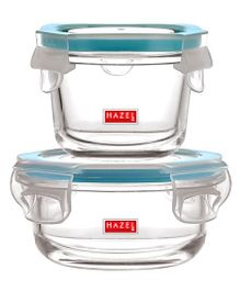 Hazel Leak Proof Containers Pack of 2 - Transparent