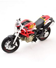 New Ray Die Cast Toy Bike Ducati Monster 796 - Red