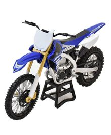New Ray Die Cast Toy Bike Yamaha YZ 450F - Blue