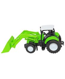 New Ray Die Cast Free Wheel Tractor Toy - Green