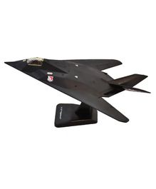 New Ray F - 117 Nighthawk Fighter Plane With Plastic Stand - Black