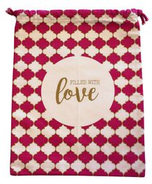 Papercrush Filled With Love Bag - Red