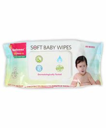Morisons Baby Dreams Wet Wipes - 80 Pieces