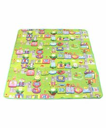 ToyMark Alpha Numeric Printed Educational Play Mat (Print May Vary)