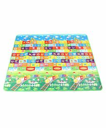 ToyMark Alphabet Printed Educational Play Mat - Multicolor